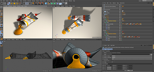 Cinema 4D Viewport
