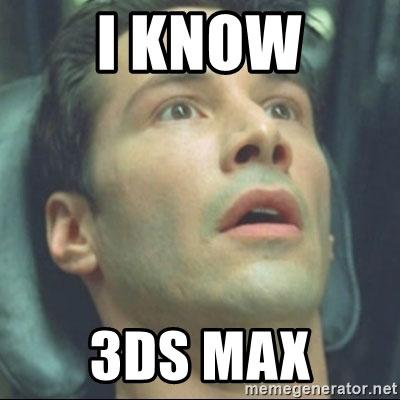 3DsMax Meme for Architecture Internships