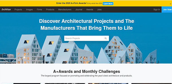 Architizer Best Architecture Magazine