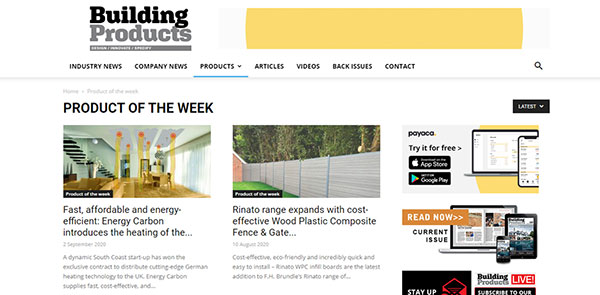 Building Products Architecture Magazine
