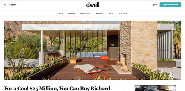 Dwell Architecture Magazine