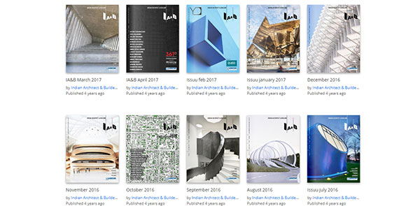 Indian Architect & Builder Magazine