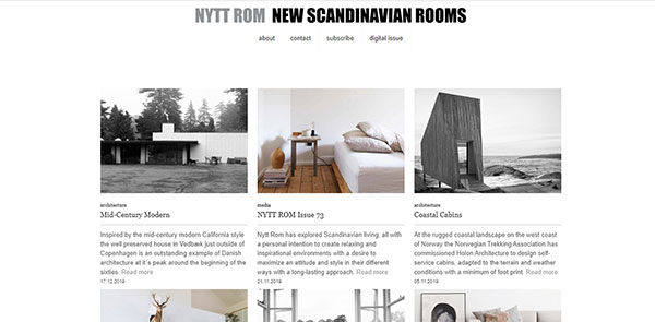 Nytt Rom Magazine Screenshot