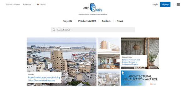 ArchDaily Website