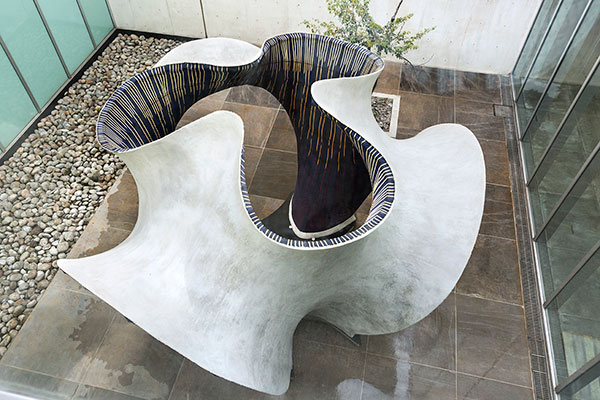 Architecture Trends - Concrete structure made through 'knitting' technologies