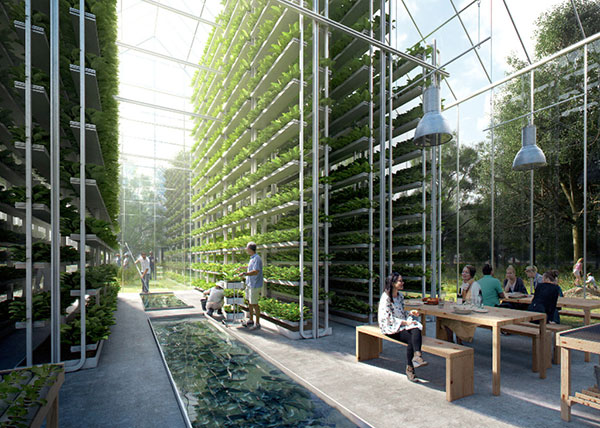 Architecture Trends - Visualization of self-sufficient urban villages