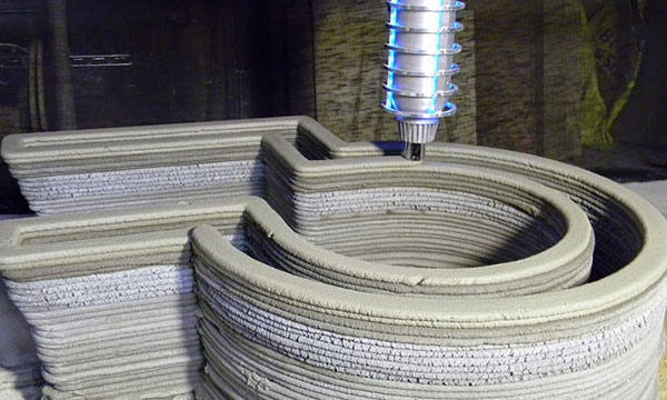 3D-printed concrete structures