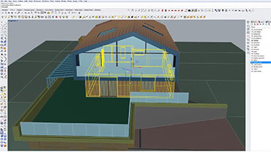 Rhino for Architects Course Modeling Example