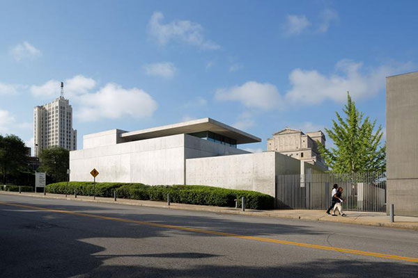 Tadao Ando's Pulitzer Foundation for the Arts building - Minimalist Architecture