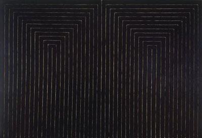 Black Paintings Minimalist Architecture