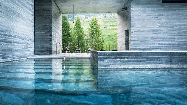 Peter Zumthor's Therme Vals - Minimalist Architecture