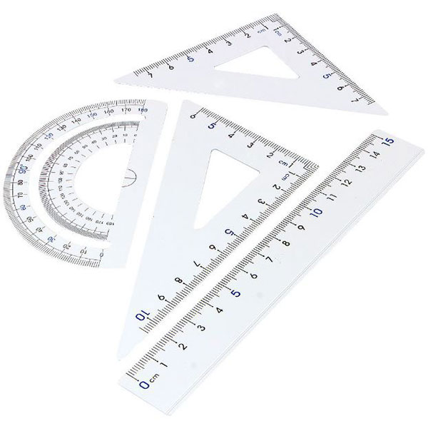 Drafting Tools - Square and Triangles