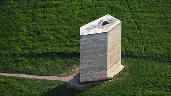 Bruder Klaus Field Chapel by Peter Zumthor - Minimalist Architecture