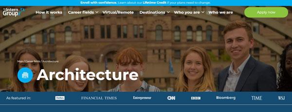 The Intern Group Architecture Internships