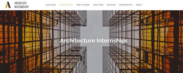 Architecture Internships - Absolute Internships